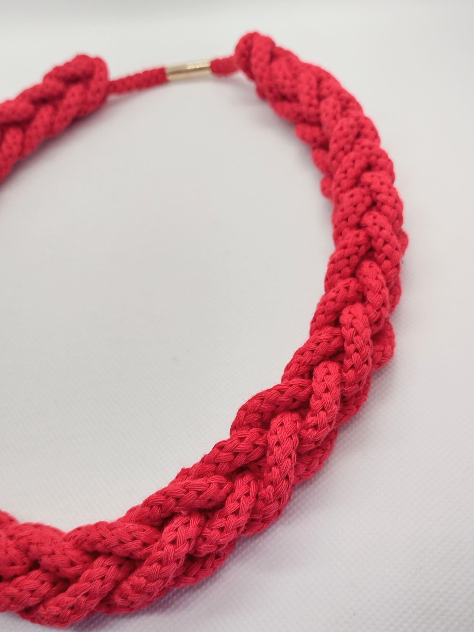 Collar Jamaica rojo - Ulana