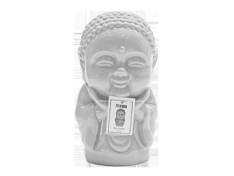BABY BUDA FELICIDAD BLANCO 13 CM