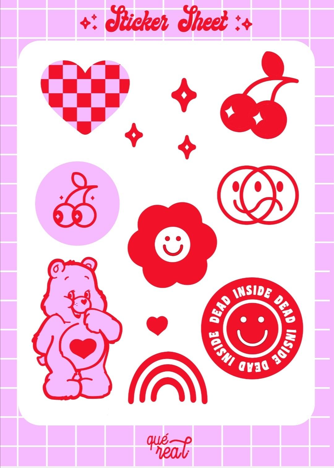 Lámina de stickers