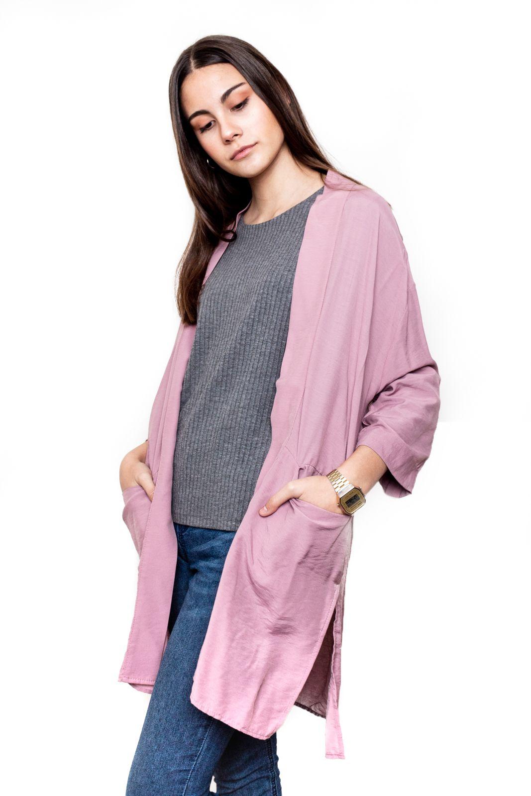 Kimono Rosa Palo