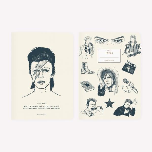 Libreta x2- Bowie
