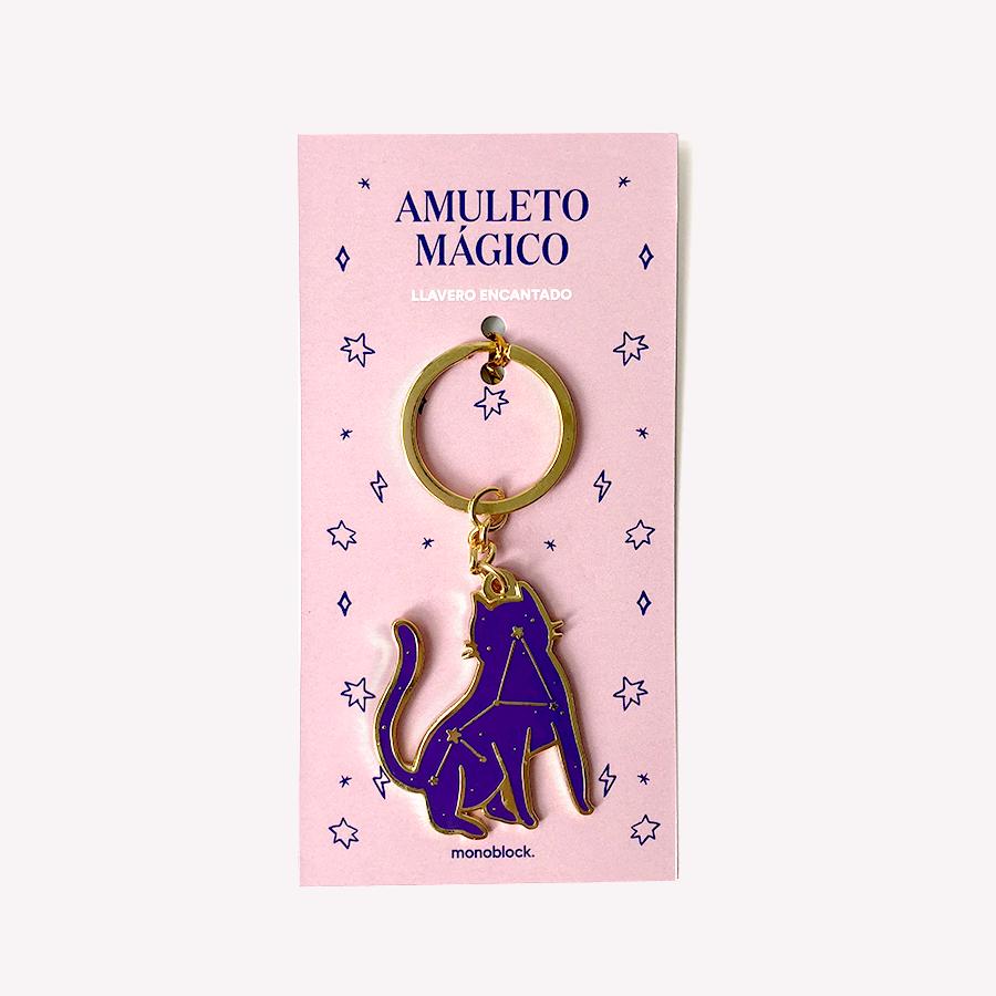 Llavero - Amuleto Gato