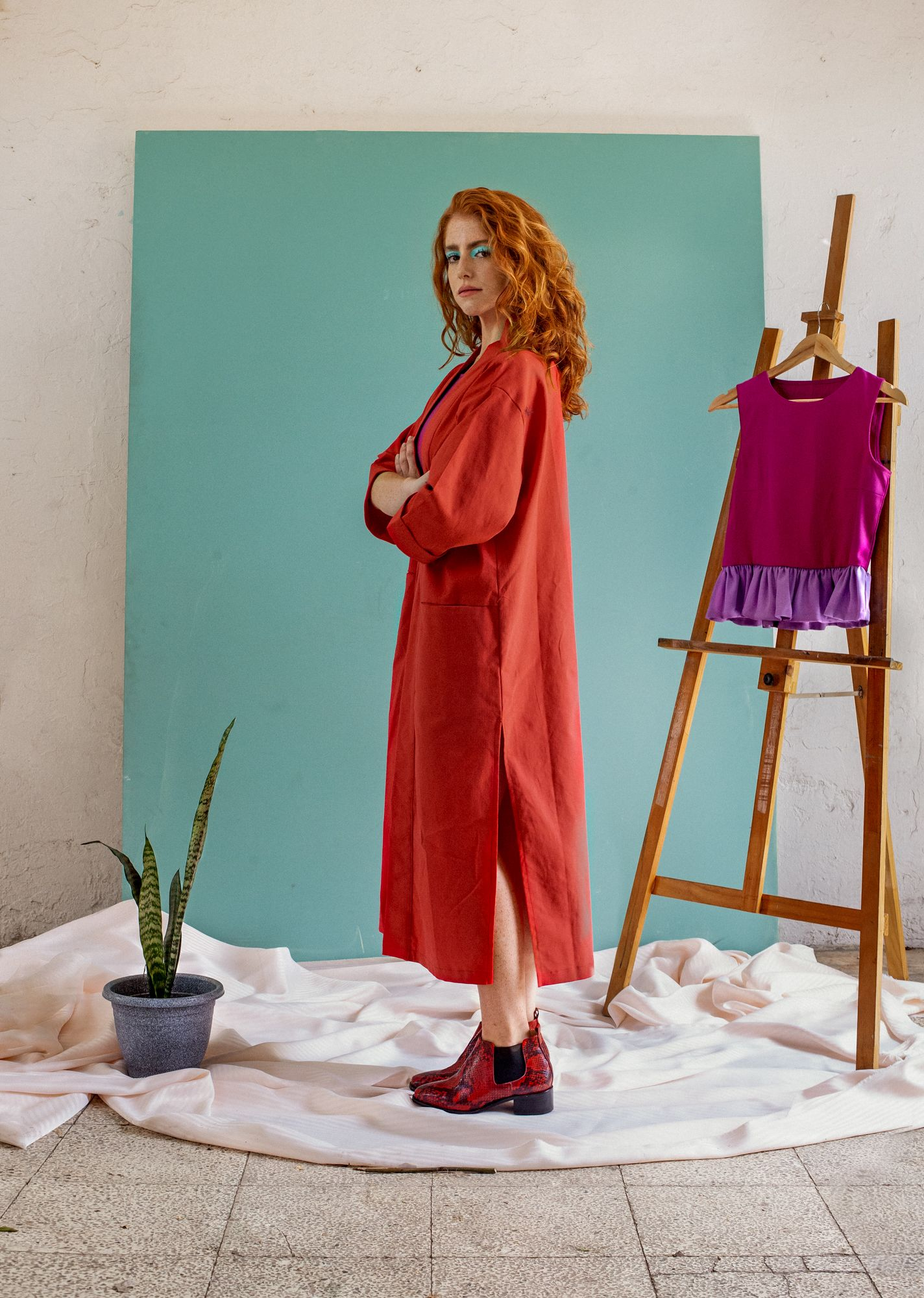 Kimono Long Rojo