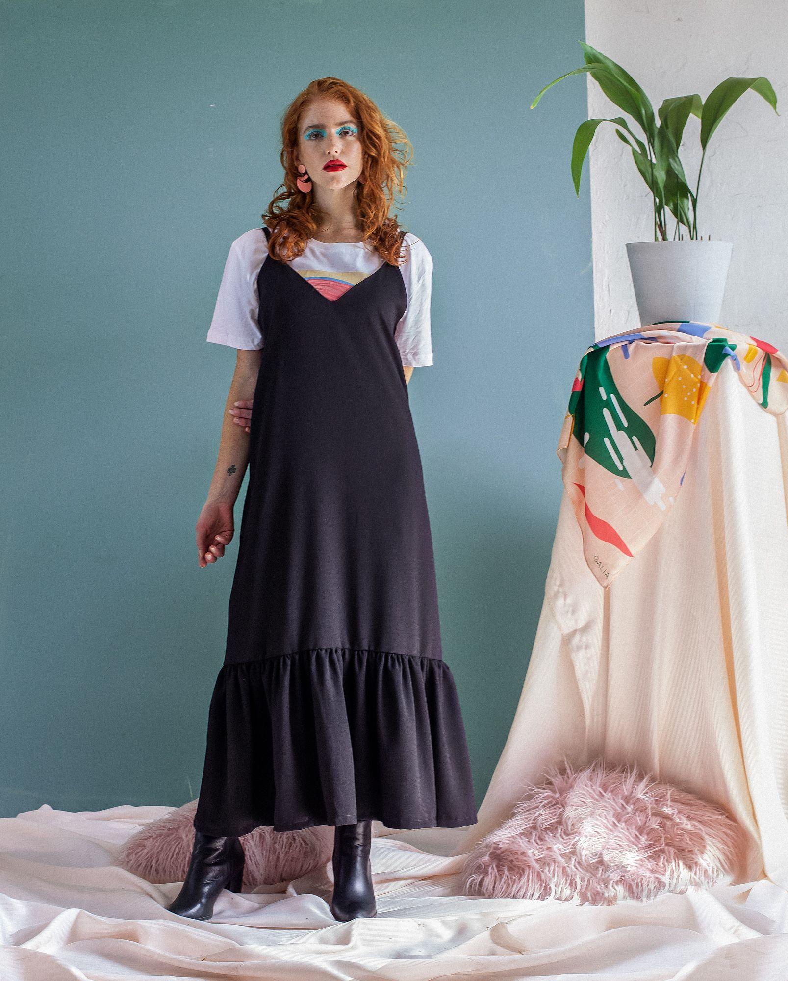 Vestido Astrid Negro Long