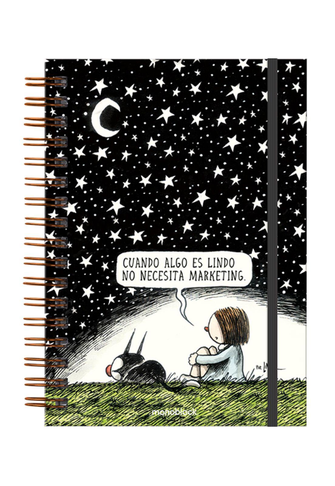 Cuaderno anillado Estrellado