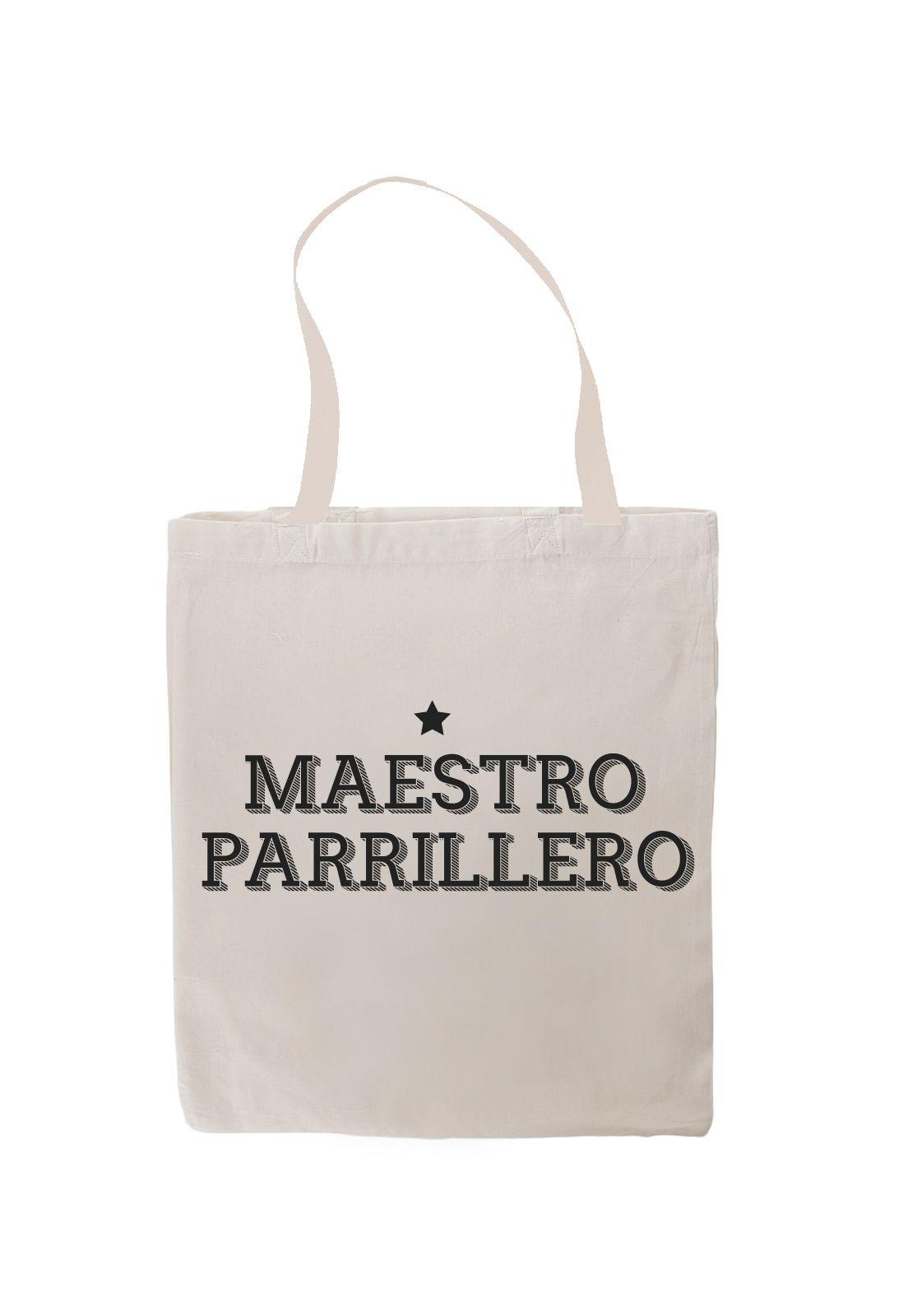 Totebag Maestro Parrillero