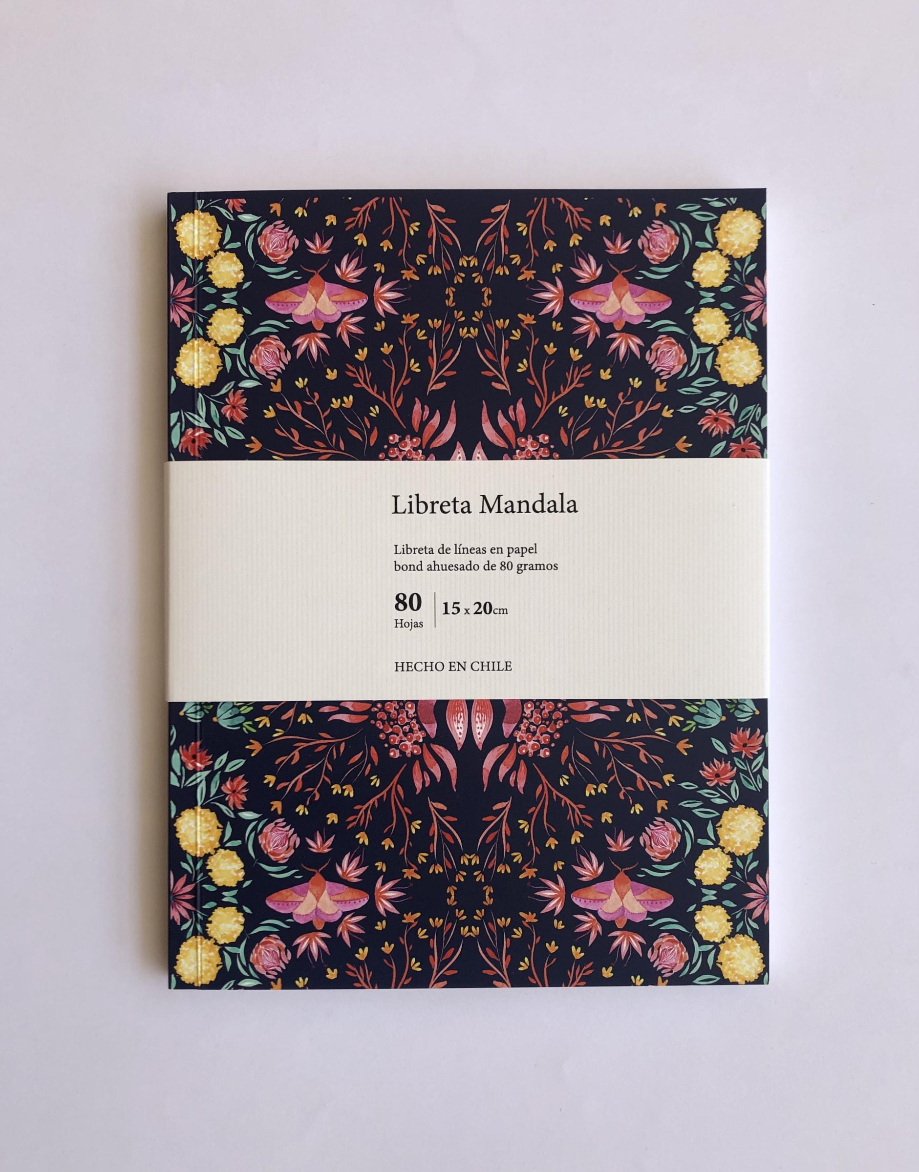 Cuaderno Mandala - Carmen Ilustra