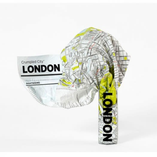 Crumpled City Map - London