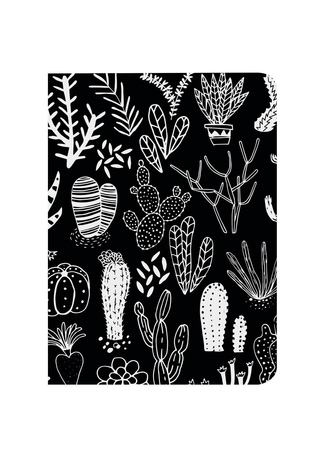 Libreta cactus negro