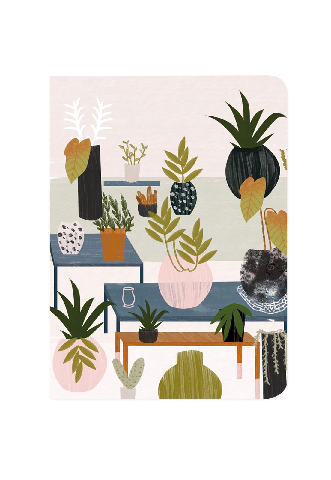 Libreta plantas Deco