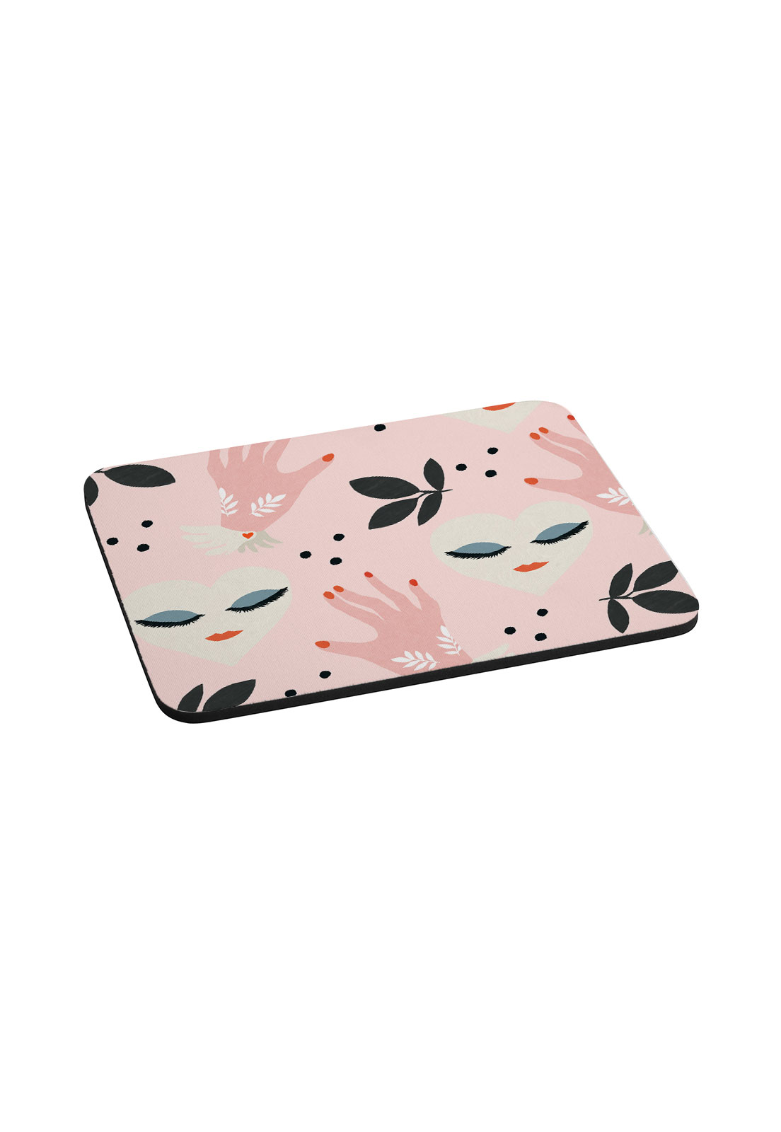 Mouse Pad  Manos Rosa