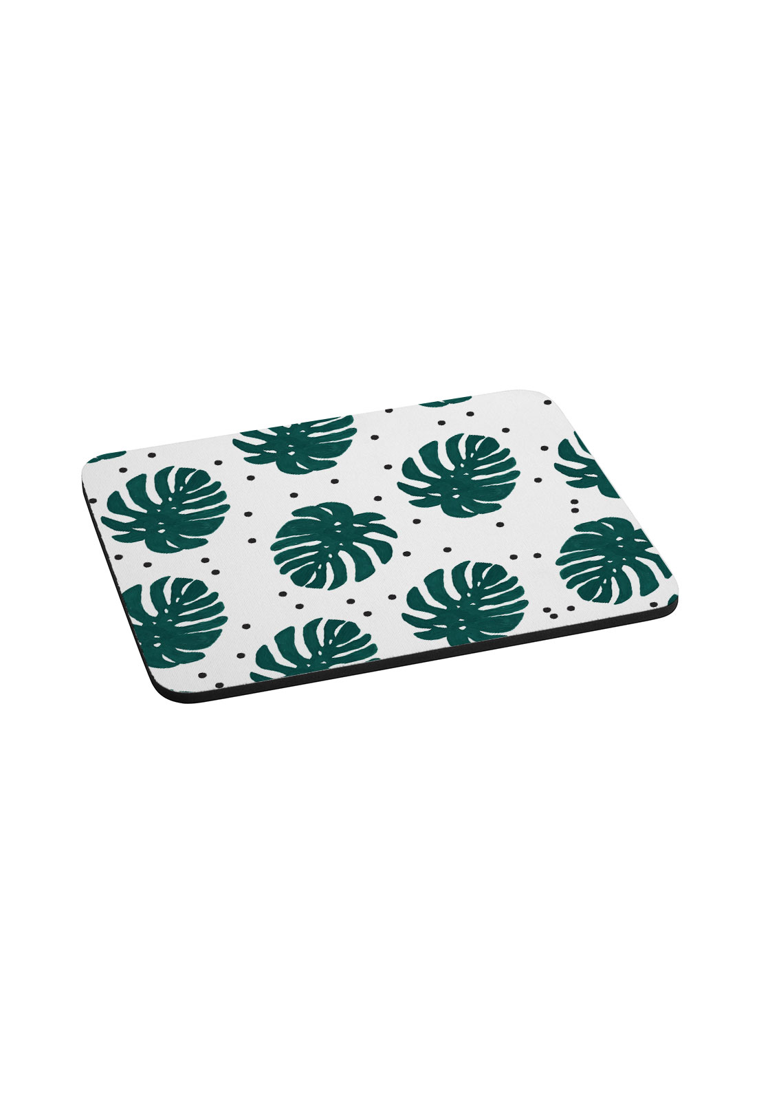 Mouse pad hojas dots