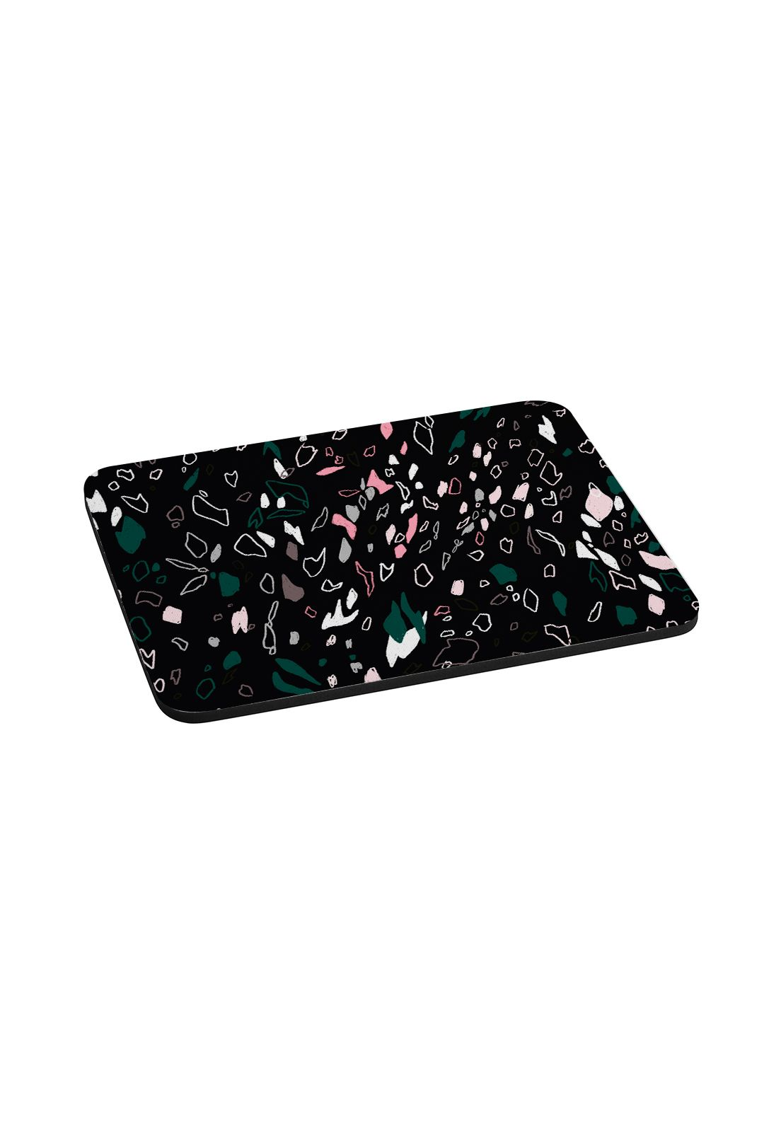 Mousepad Terrazo negro