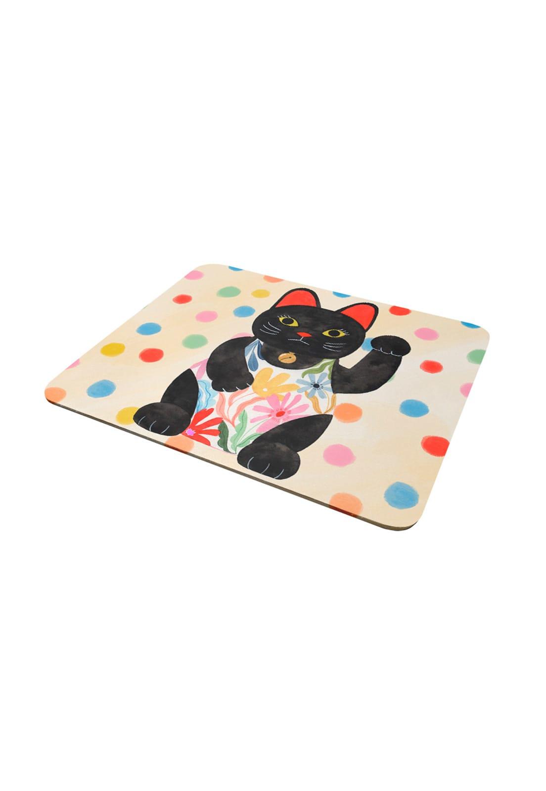 Mousepad Gato de la Suerte