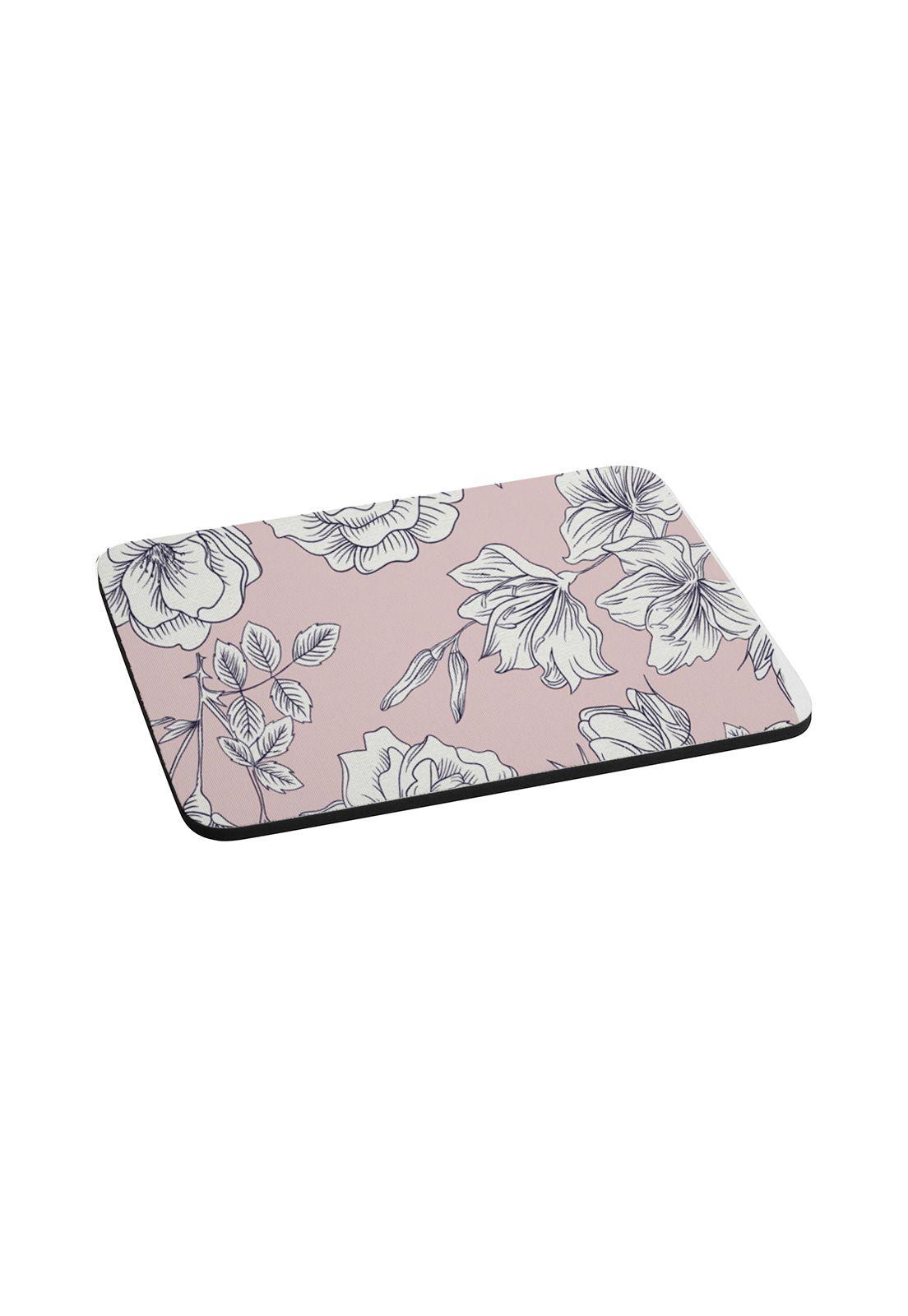 Mousepad Flores Rosadas