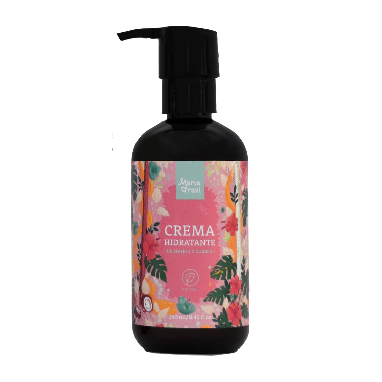 Crema hidratante y antiestrías floral
