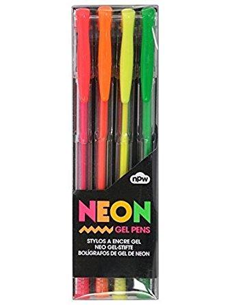 Neon Gel Pens