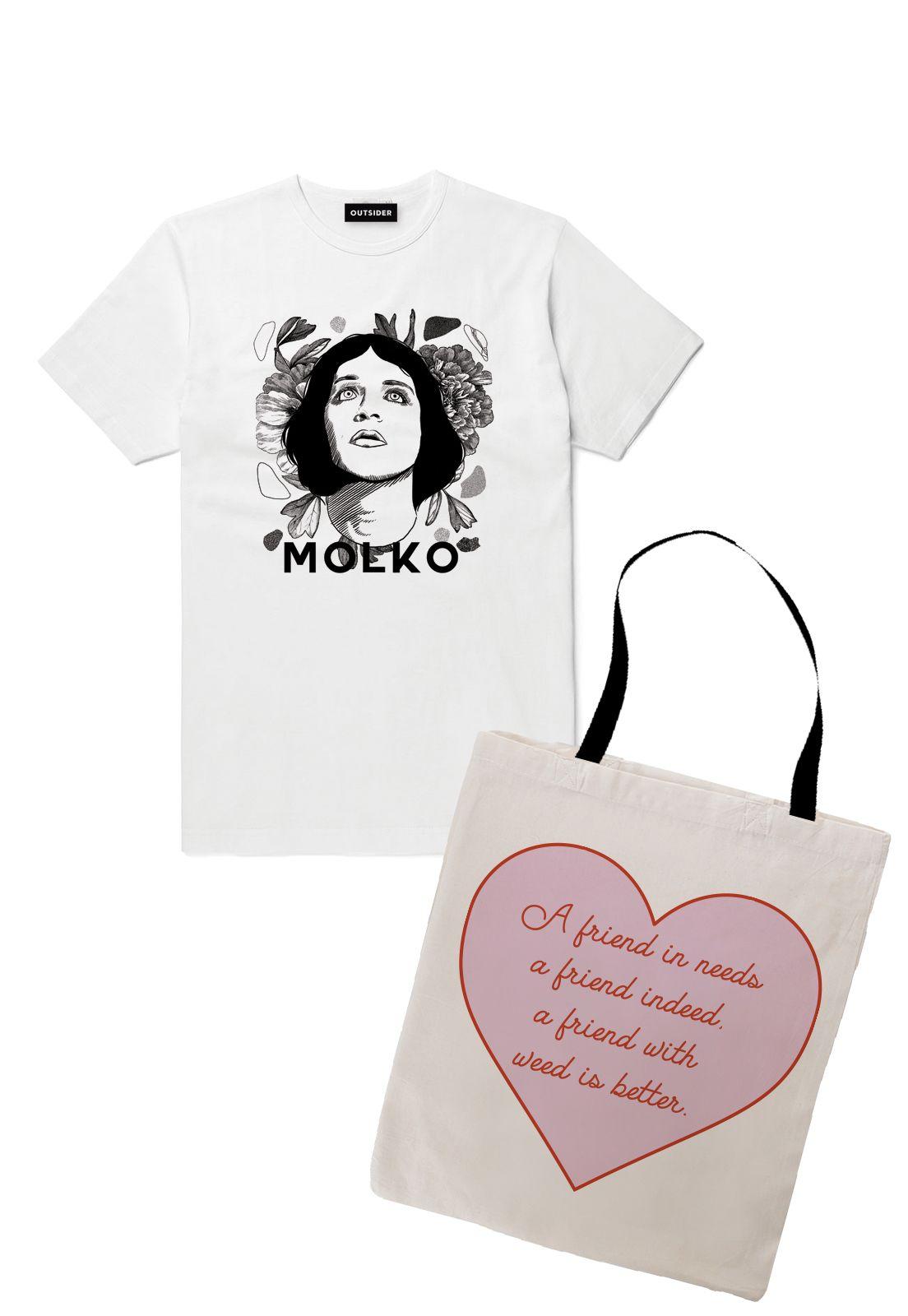 Pack Polera Molko + Totebag
