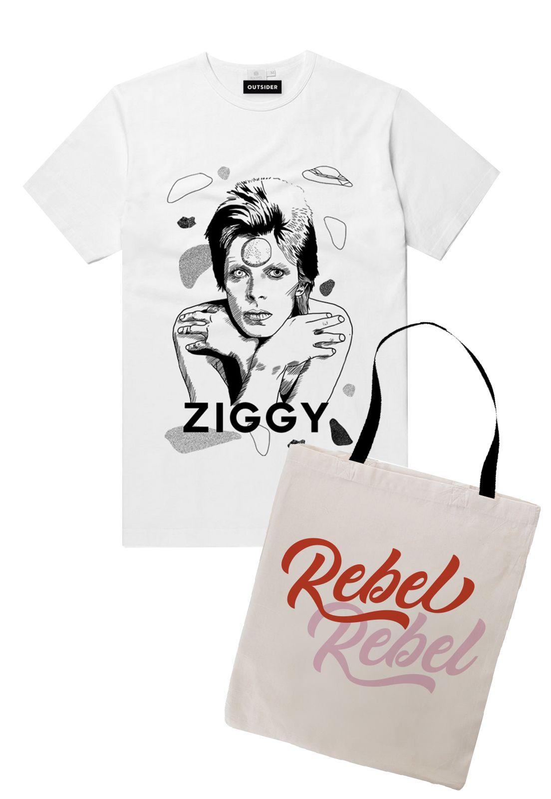 Pack Polera Ziggy + Totebag