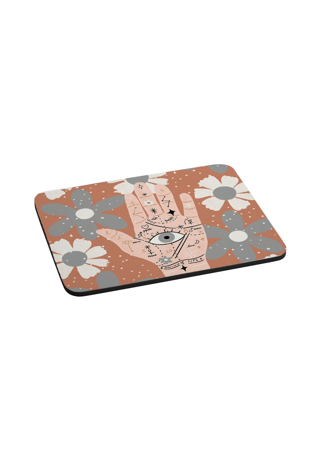 Mousepad Palm y flores