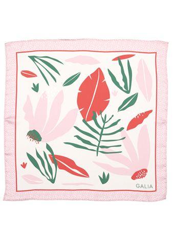 Pañuelo Floral Rojo