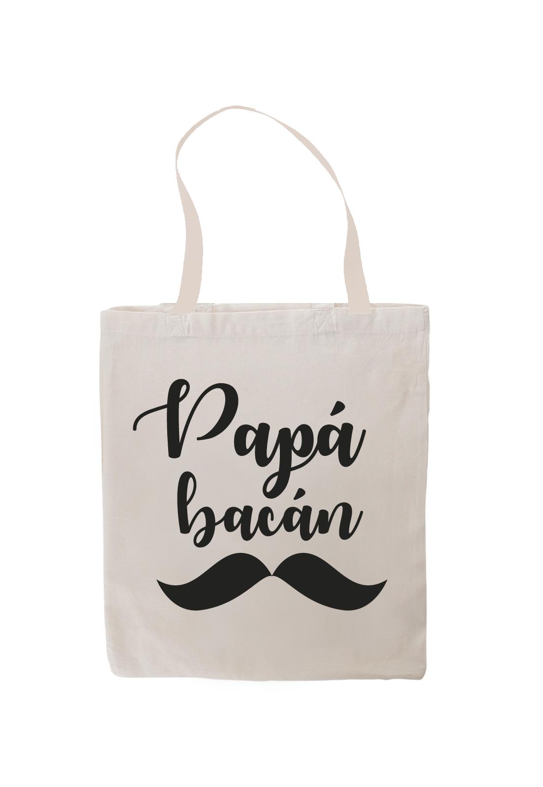 Totebag Papá Bacán