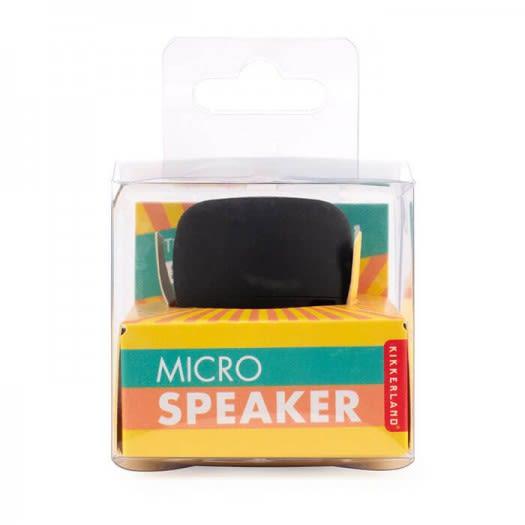 MICRO SPEAKER BLACK