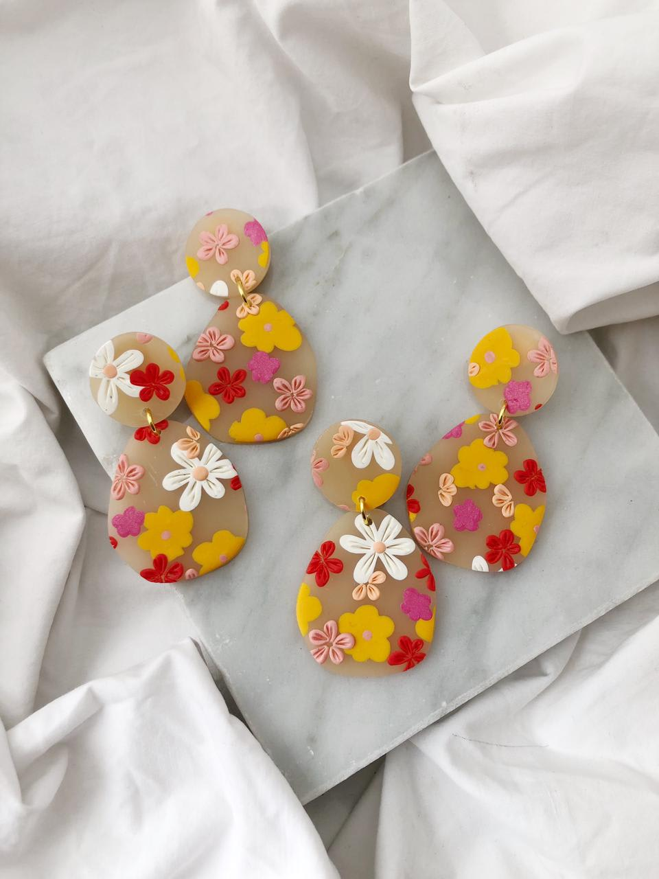 Aros Flores Romantic