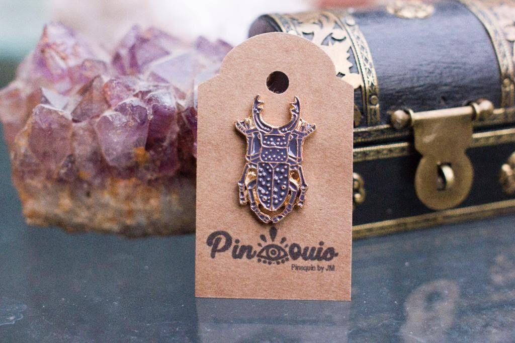 Pin Escarabajo