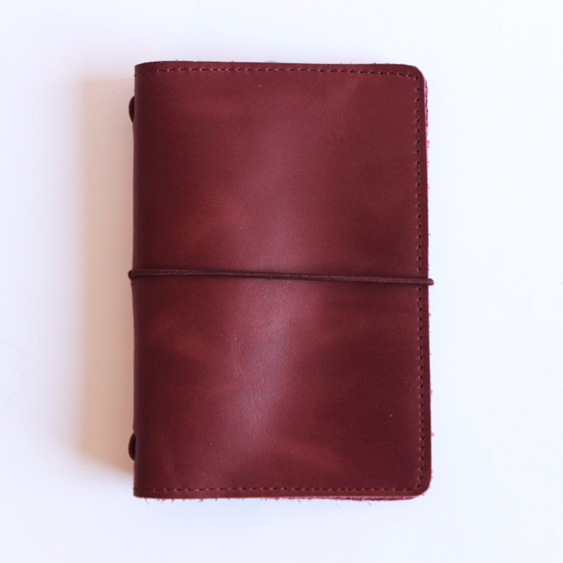 Libreta Pocket burdeo