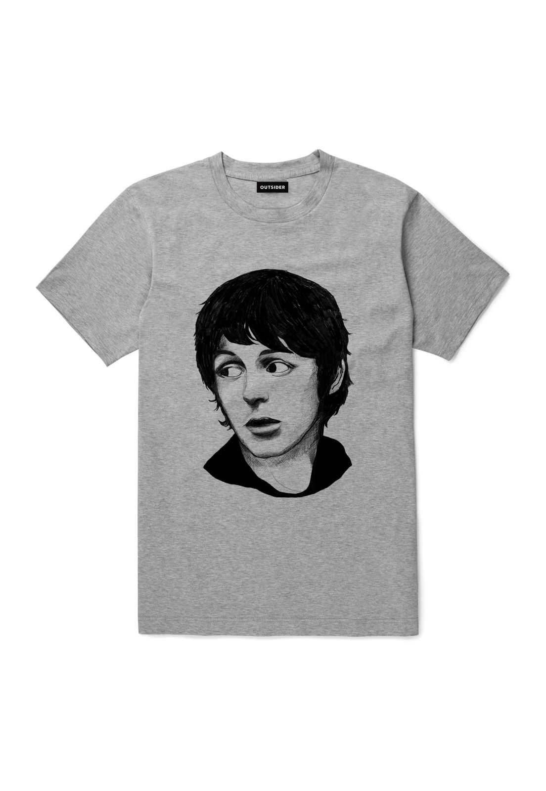 Polera Paul McCartney Gris