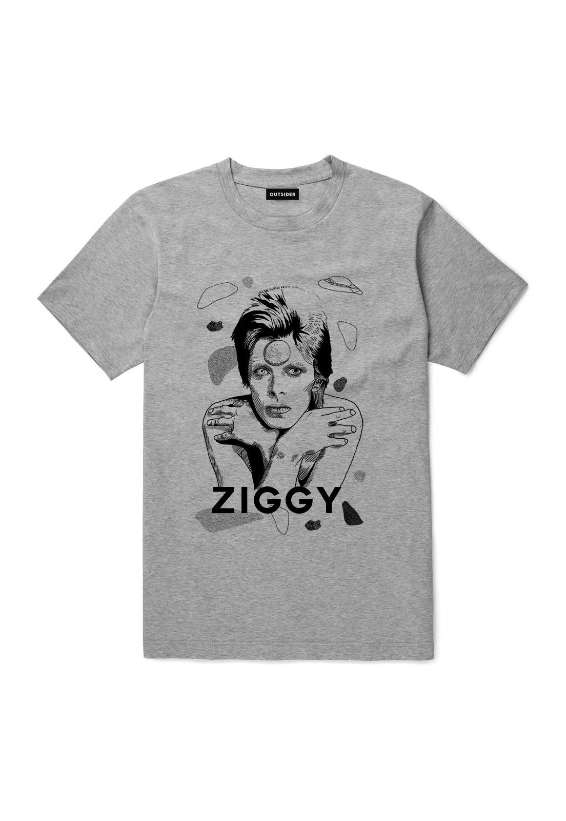 Polera David Bowie Z Gris