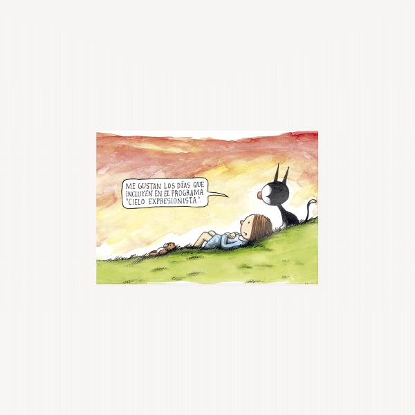 Postal - Cielo Expresionista