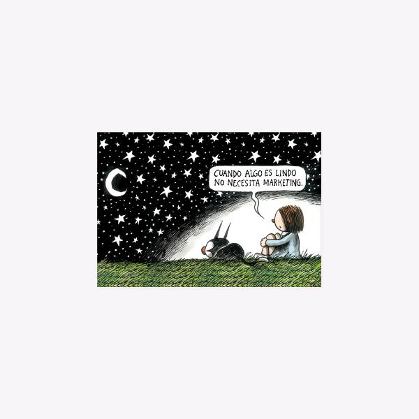Postal - Noche Estrellada