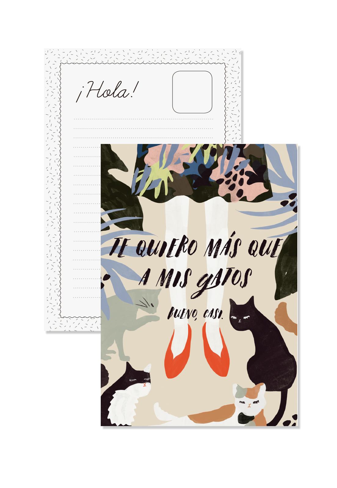 Postal Casi Te Quiero