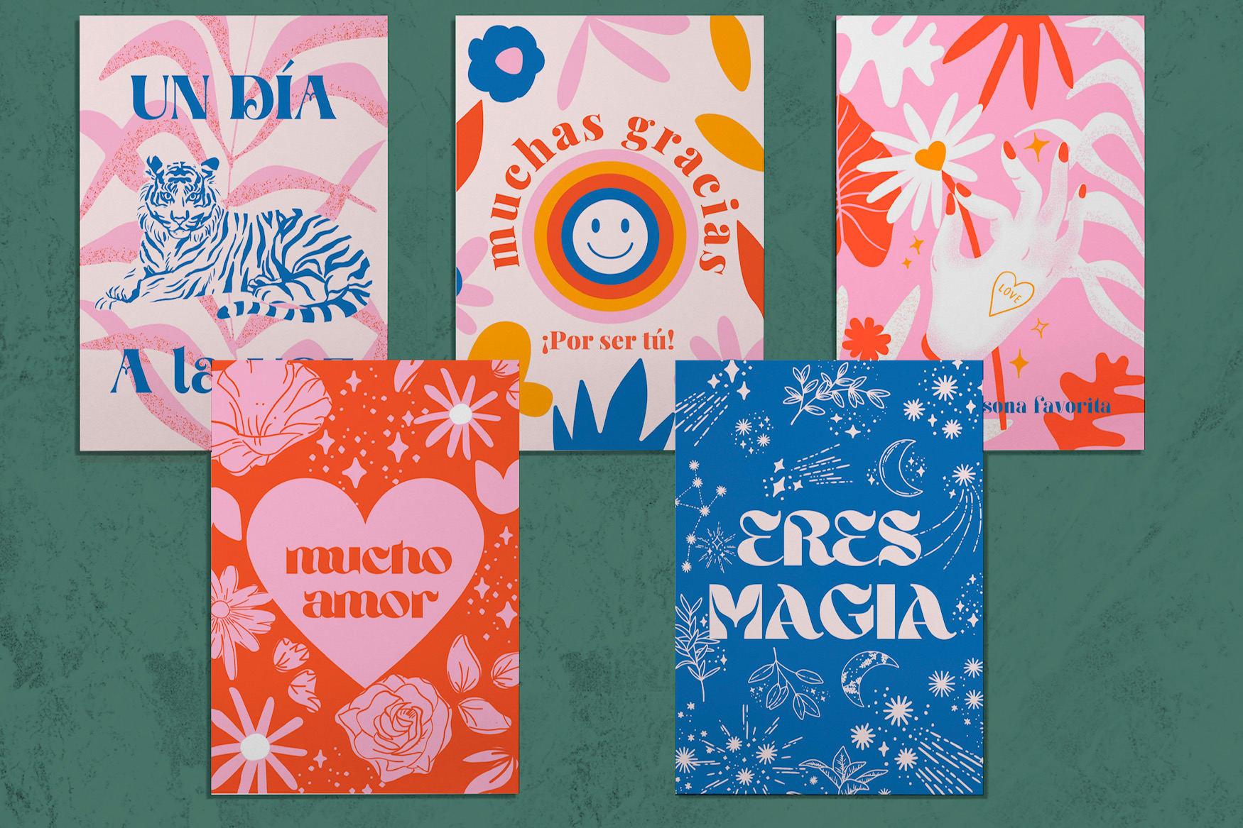 Set Postales Buena Onda