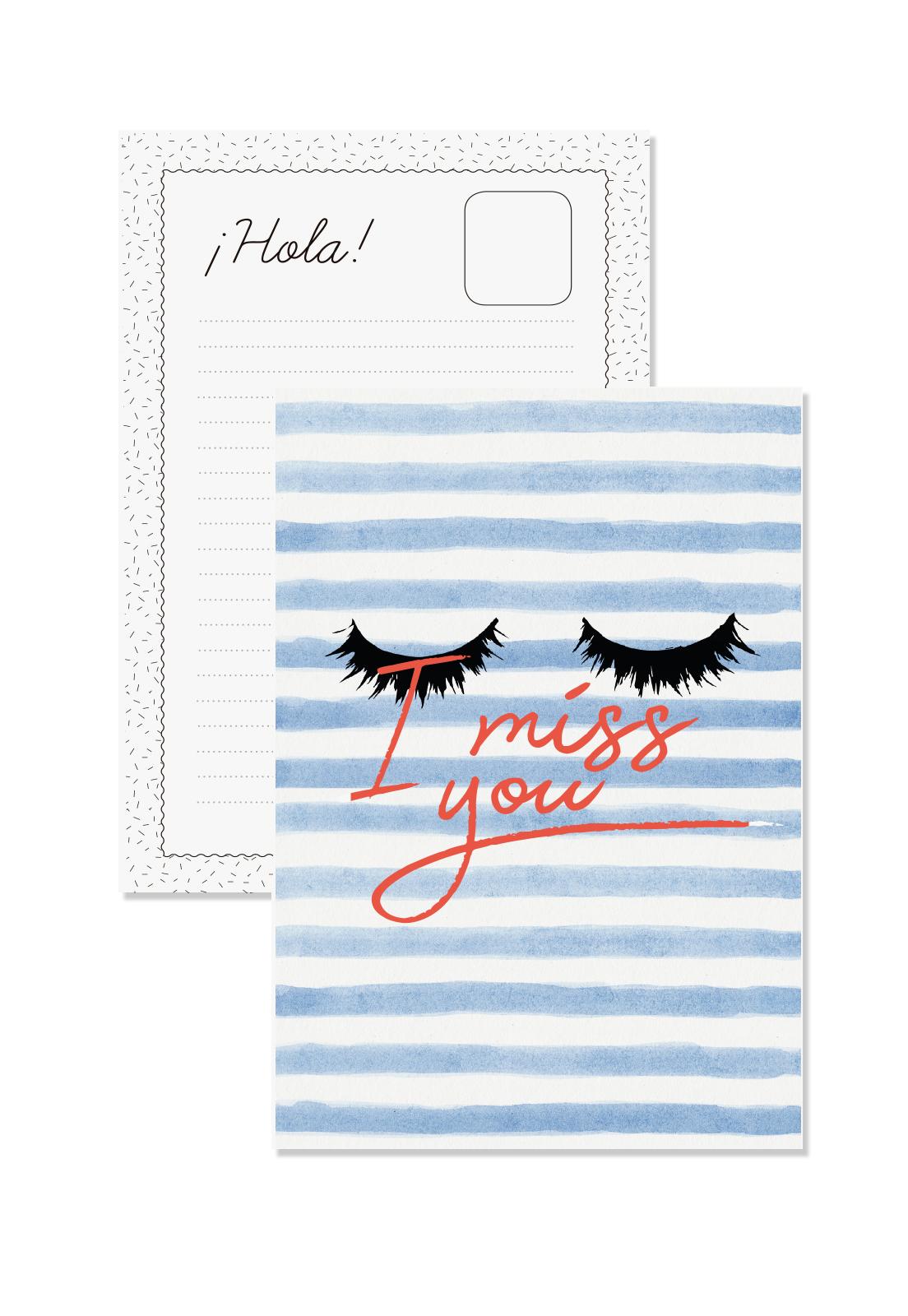 Postal I Miss You