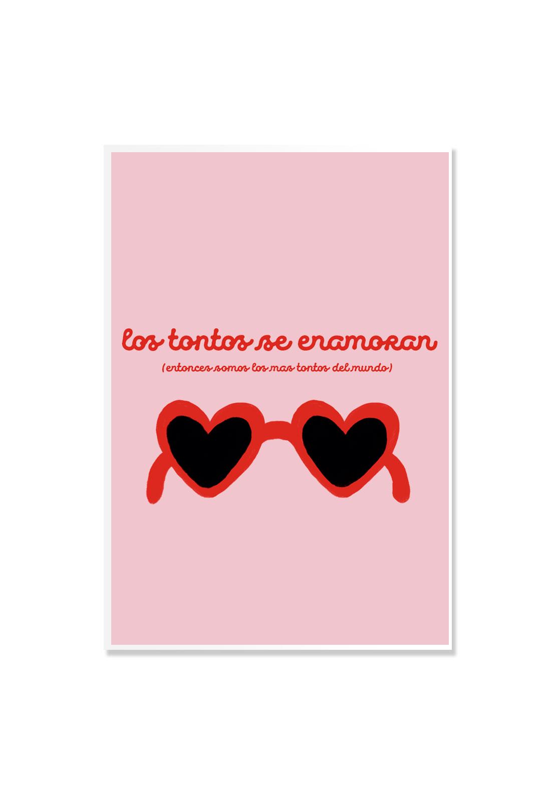Poster Los Tontos se Enamoran