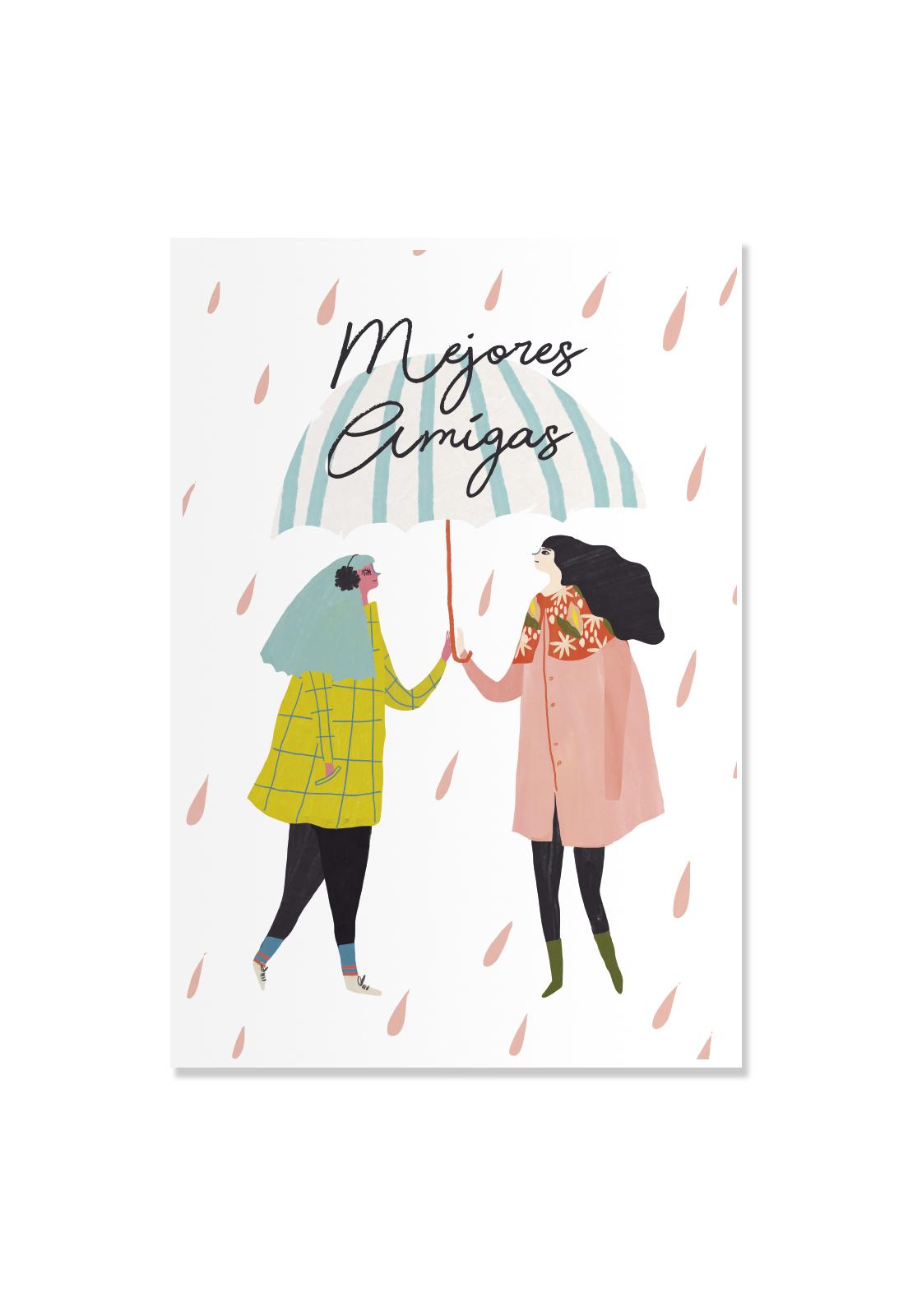 Poster Mejores Amigas
