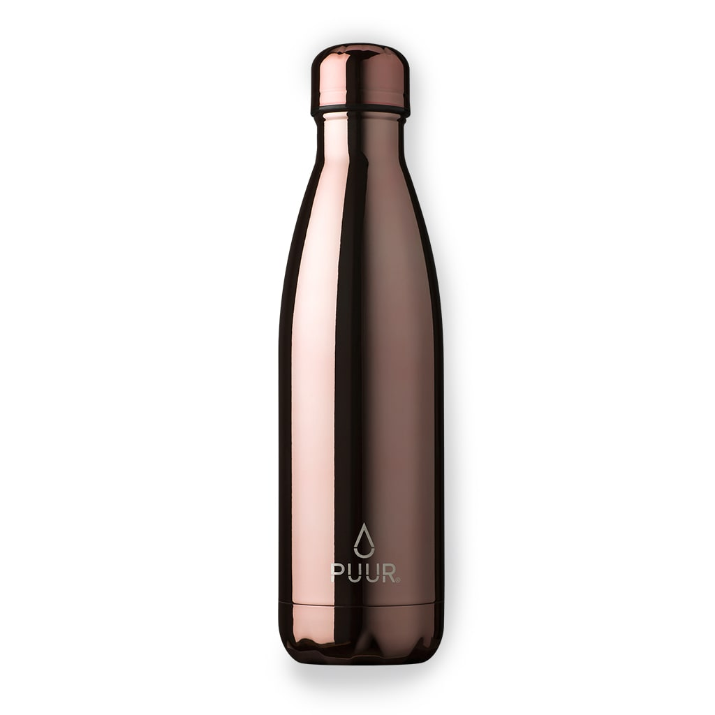 PUUR BOTTLE ROSE GOLD