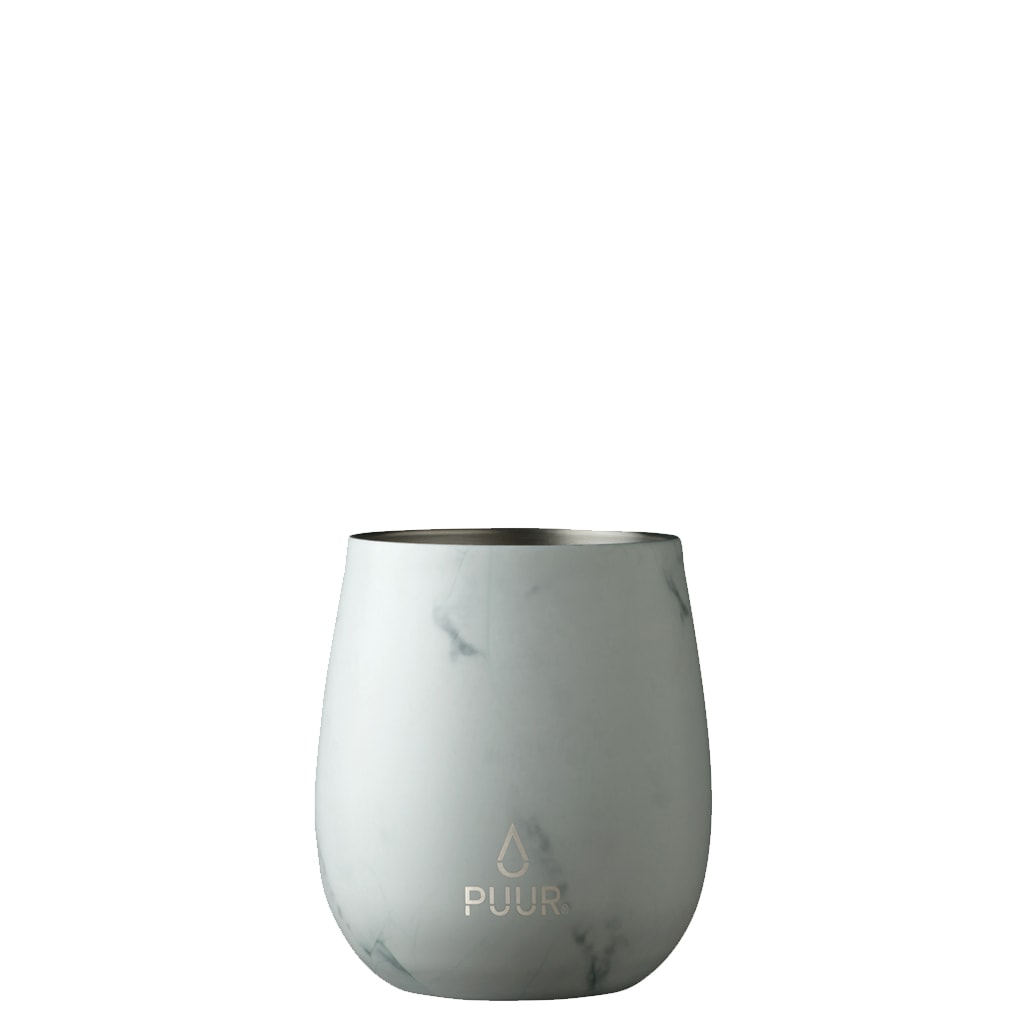 Puur Cup White Marble