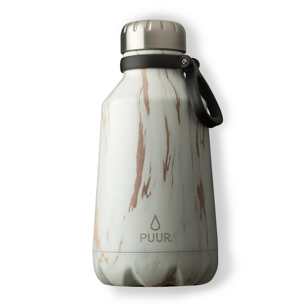 PUUR BOTTLE GOLD MARBLE 1,2 L