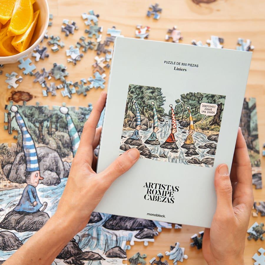 Puzzle Artistas Rompecabezas - Duendes Beatles por: Liniers