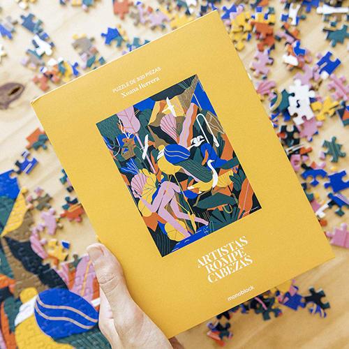 Puzzle Artistas Rompecabezas -Ensayo Natural por: Xoana Herrera