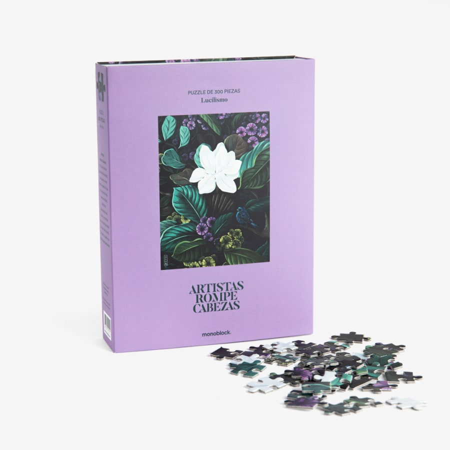 Puzzle Artistas Rompecabezas - Magnolia por lucilismo