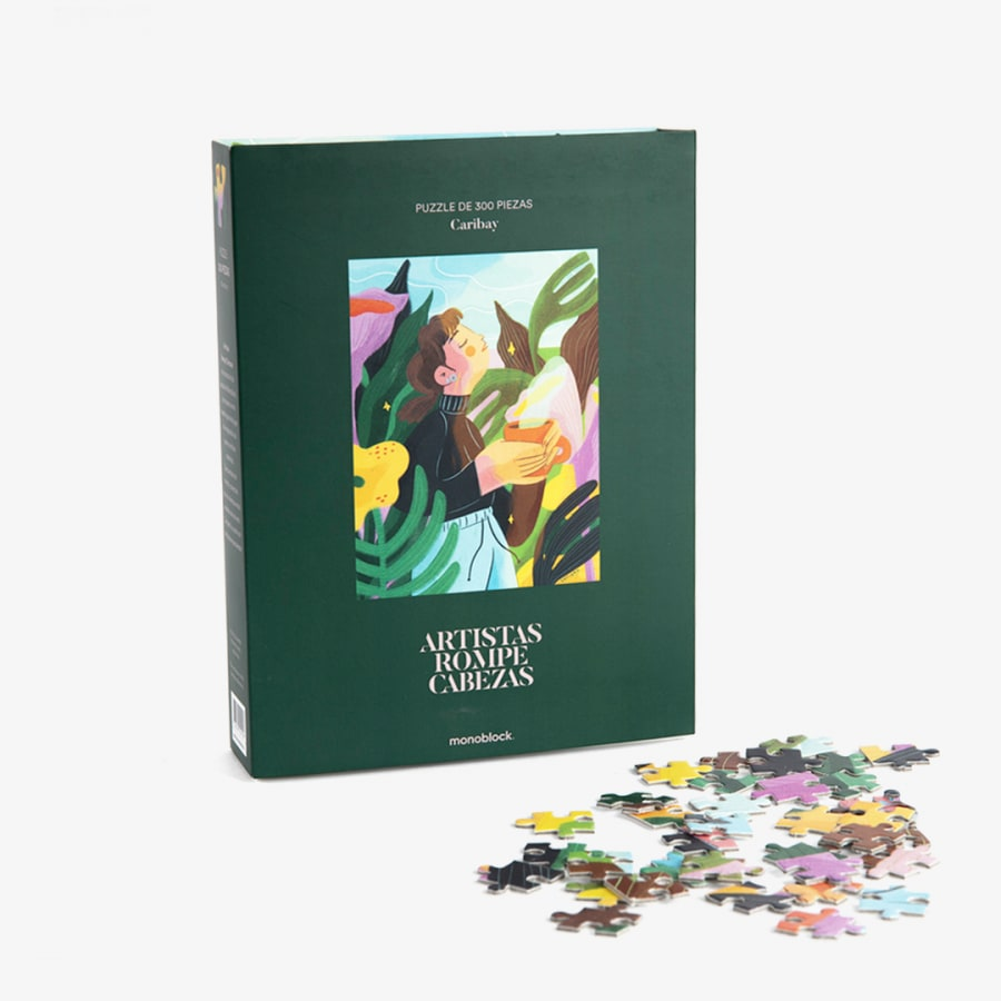 Puzzle Artistas Rompecabezas - Medita por: Caribay Marquina