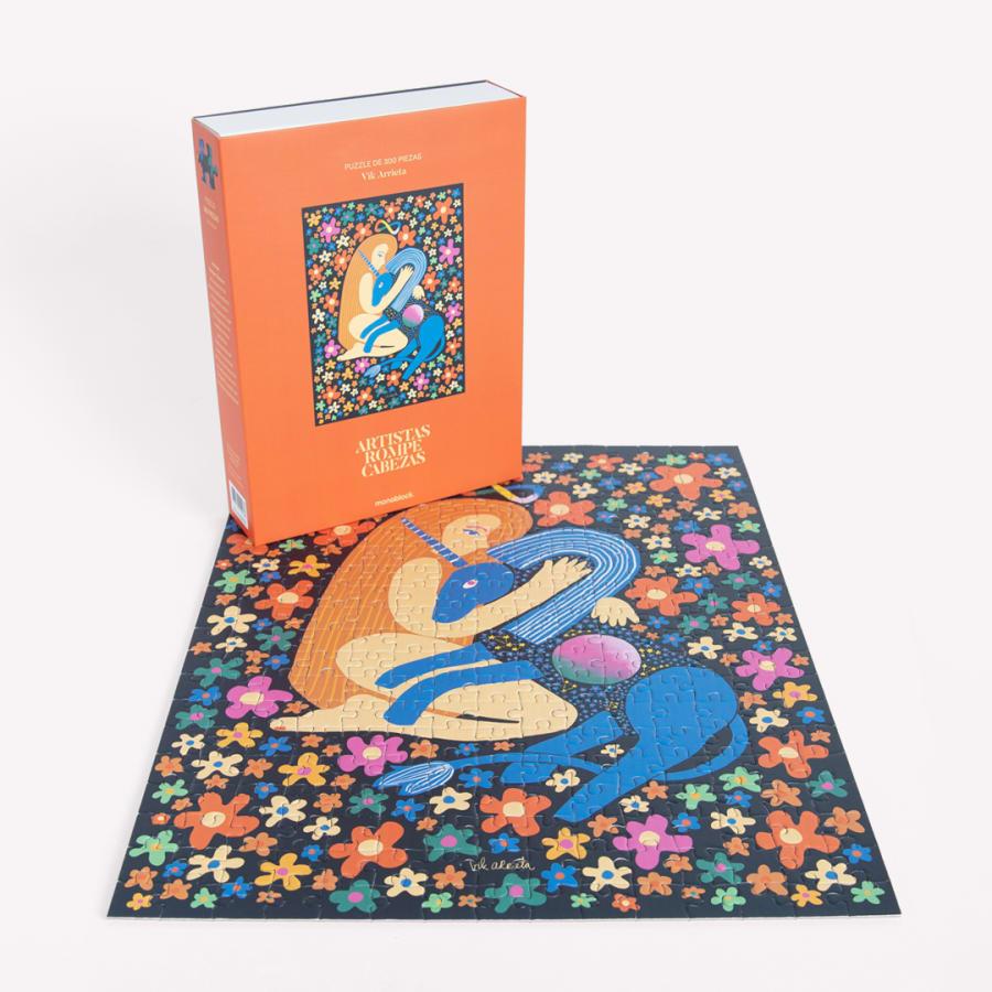 Puzzle Artistas Rompecabezas - Mi unicornio y yo - por: Vik Arrieta