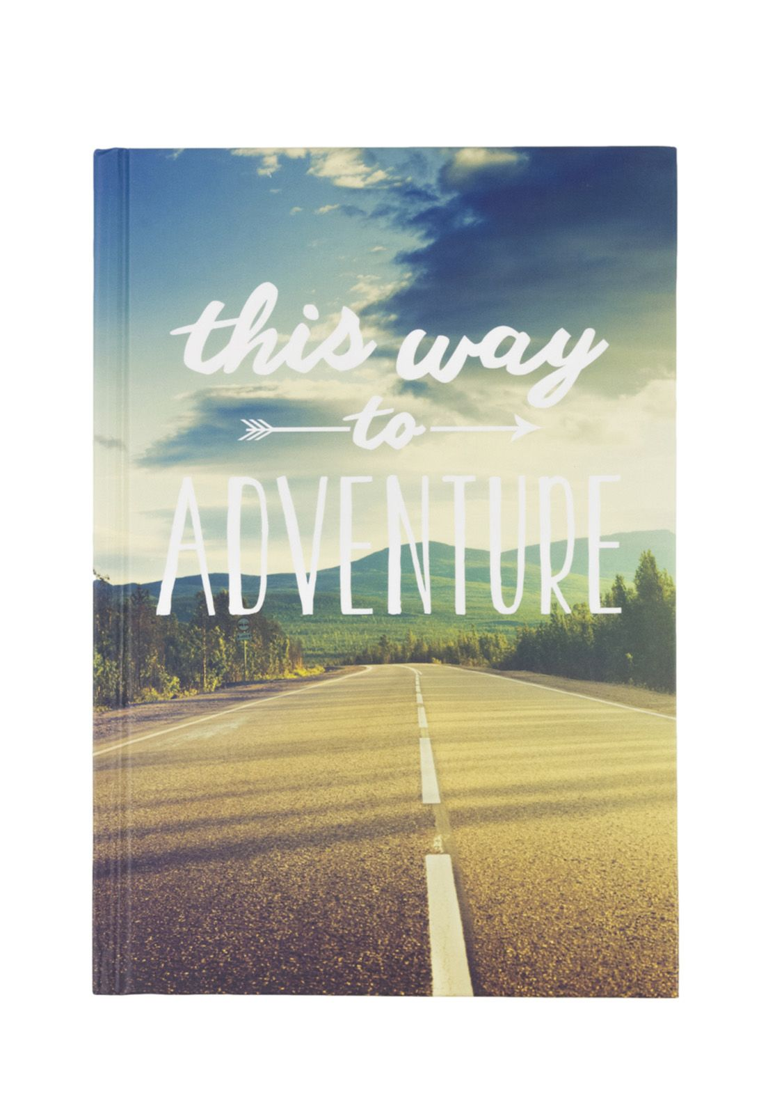 Travel Journal This Way to Adventure 15x20cm