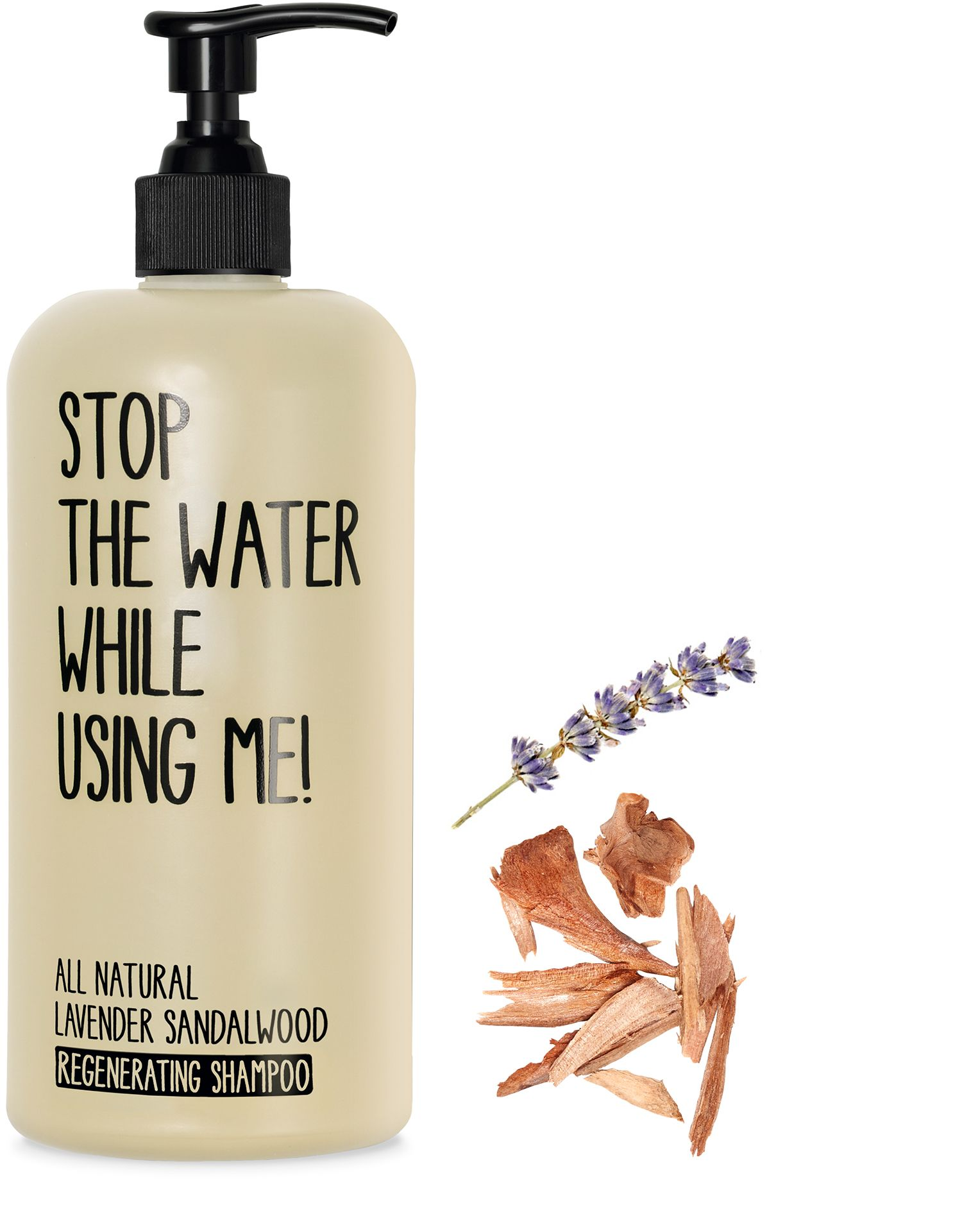 Regenerante Lavanda y Sándalo Shampoo 200 ML