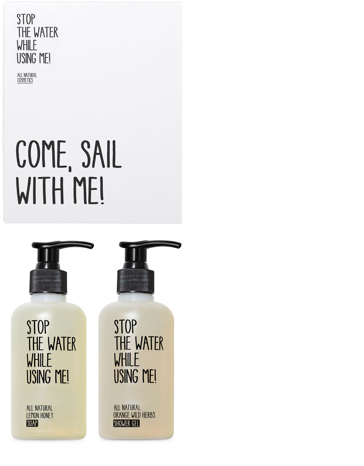 COME, SAIL WITH ME SET GEL DE DUCHA Y JABON